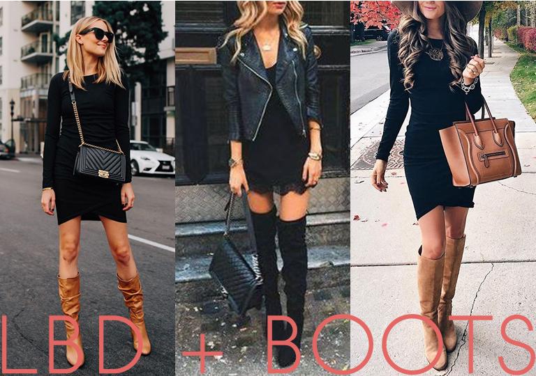 5 modi COMODI e PRATICI -e a cui non avevi pensato- per indossare un tubino nero ed essere cool.