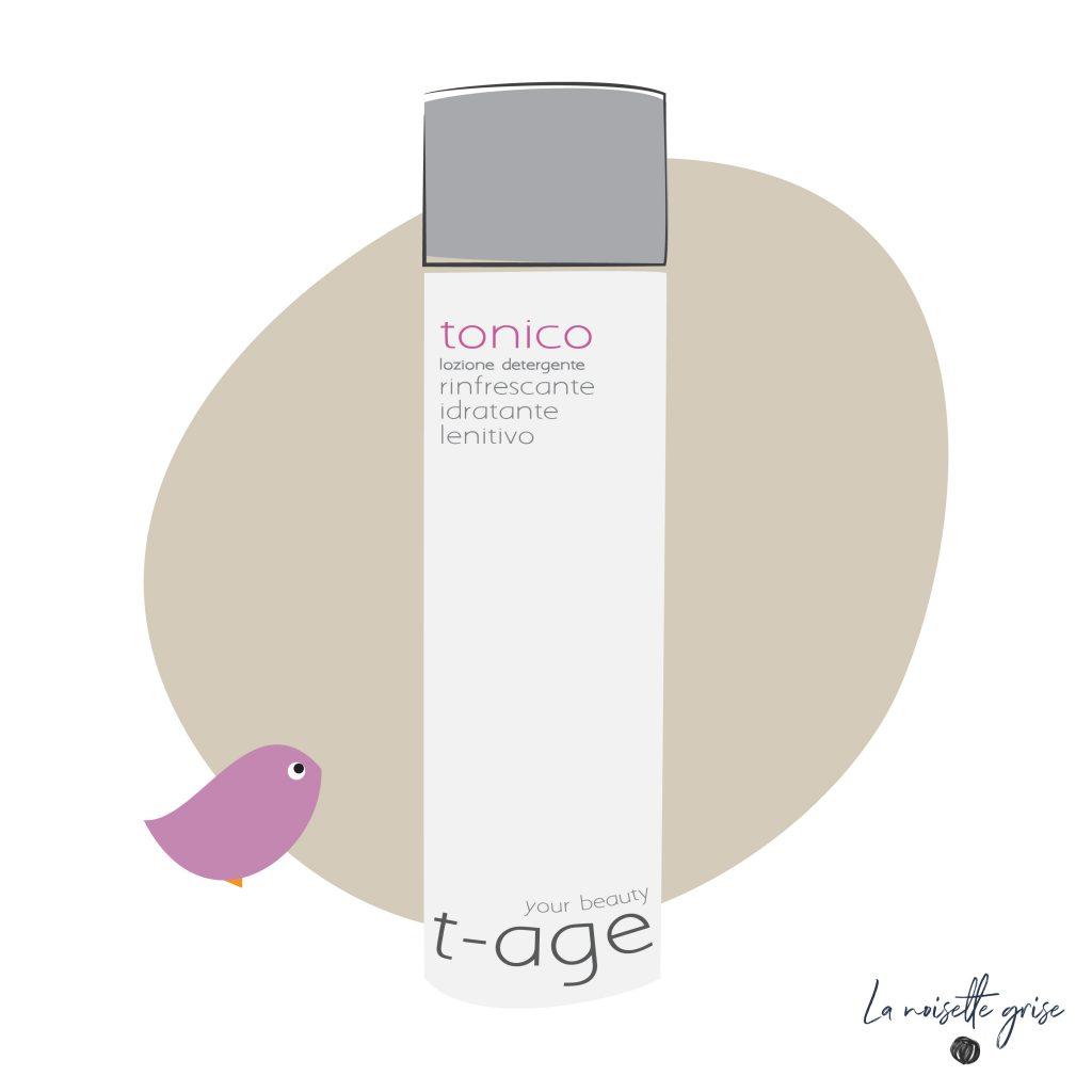 Tonico T-AGE COMETICS: la mia recensione e come lo uso d'estate e d'inverno.