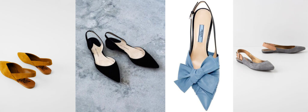 MULES, SLINGBACK, MINORCHINE: ecco le scarpe per la mezza stagione eleganti, cool, pratiche + i 6 modelli migliori on line.
