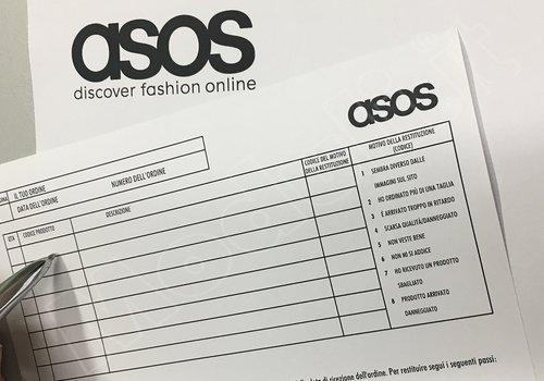 ASOS: shopping on line plurimarca. Recensione e pareri.