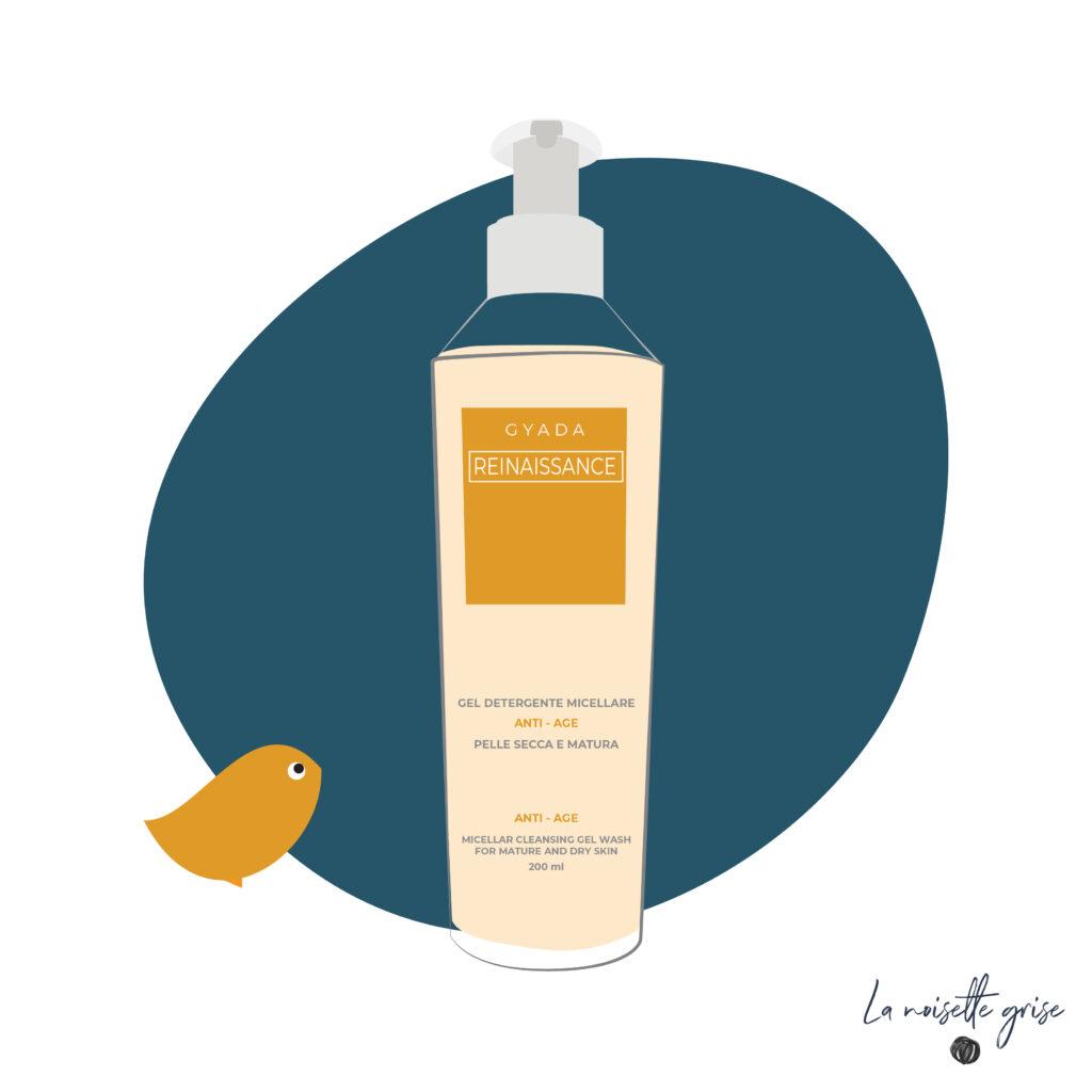 RECENSIONE BEAUTY: GYADA – Gel detergente micellare anti-age. Più delicato di quello lenitivo. #cosmetici #gyadacosmetics #bio #detergente #gel #skincare #viso